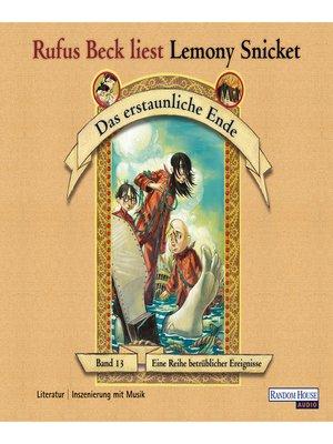 cover image of Das erstaunliche Ende
