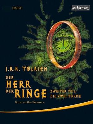 cover image of Der Herr der Ringe. Zweiter Teil