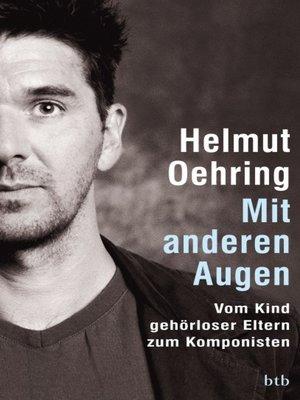 cover image of Mit anderen Augen