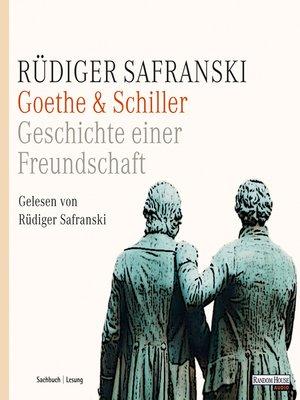 cover image of Goethe & Schiller