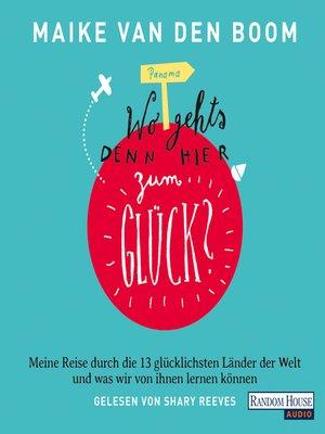 "cover image of ""Wo geht's denn hier zum Glück?"" -"