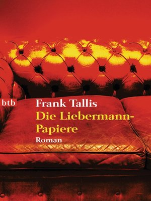 cover image of Die Liebermann-Papiere