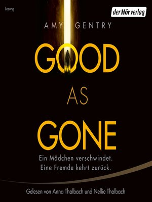cover image of Good as Gone