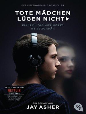 cover image of Tote Mädchen lügen nicht--Filmausgabe