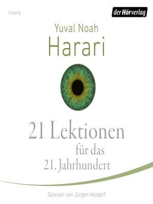 cover image of 21 Lektionen für das 21. Jahrhundert