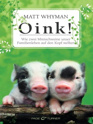 cover image of Oink!
