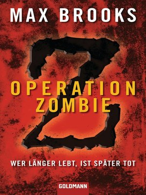 cover image of Operation Zombie