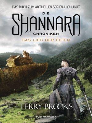 cover image of Die Shannara-Chroniken 3--Das Lied der Elfen