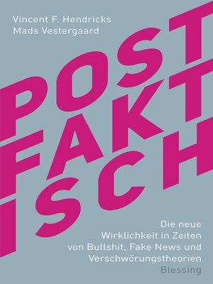 cover image of Postfaktisch