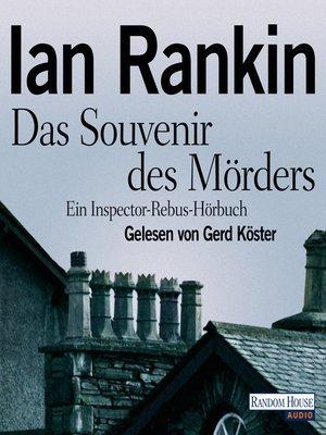 cover image of Das Souvenir des Mörders