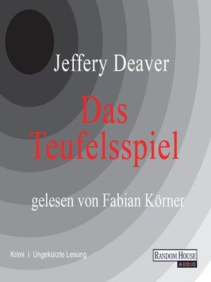 cover image of Das Teufelsspiel