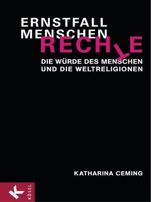 cover image of Ernstfall Menschenrechte