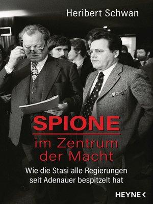 cover image of Spione im Zentrum der Macht