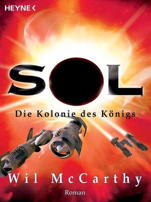 cover image of Die Kolonie des Königs