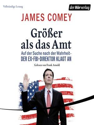 cover image of Größer als das Amt