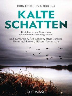 cover image of Kalte Schatten