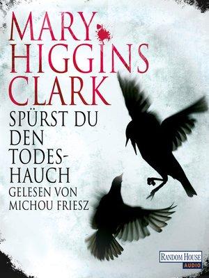 cover image of Spürst du den Todeshauch