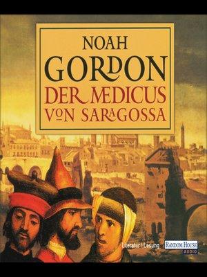 cover image of Der Medicus von Saragossa