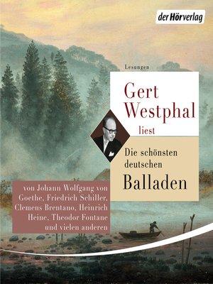 cover image of Gert Westphal liest