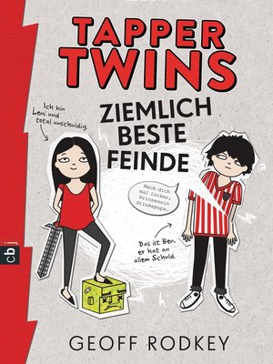cover image of Tapper Twins--Ziemlich beste Feinde