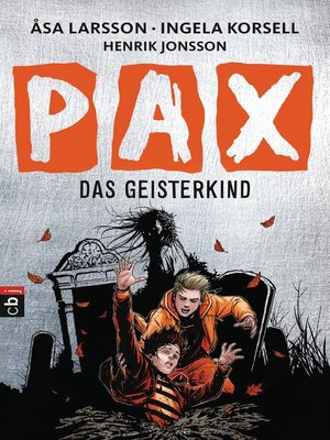 cover image of PAX--Das Geisterkind