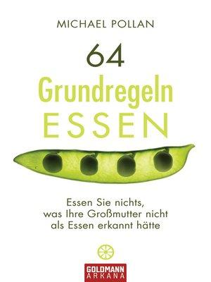 cover image of 64 Grundregeln ESSEN