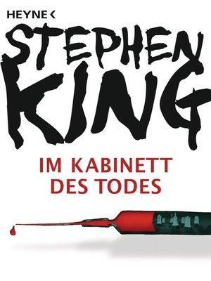 cover image of Im Kabinett des Todes