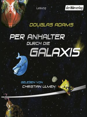 cover image of Per Anhalter durch die Galaxis