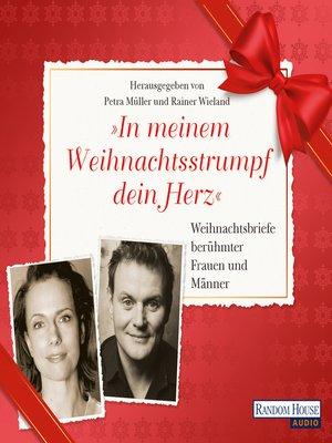 """cover image of """"In meinem Weihnachtsstrumpf dein Herz"""""""