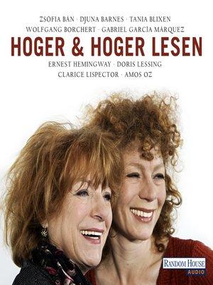 cover image of Hoger & Hoger lesen