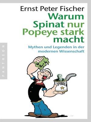 cover image of Warum Spinat nur Popeye stark macht