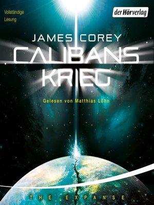 cover image of Calibans Krieg