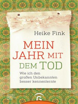 cover image of Mein Jahr mit dem Tod