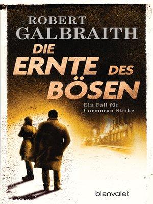 cover image of Die Ernte des Bösen