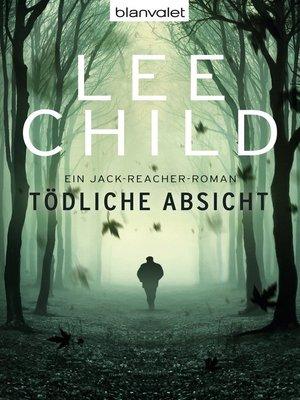cover image of Tödliche Absicht