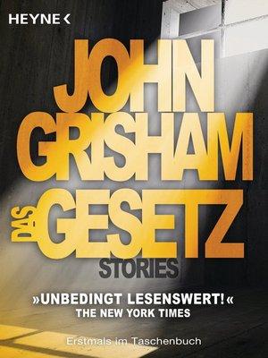 cover image of Das Gesetz