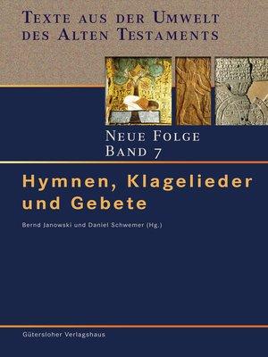 cover image of Hymnen, Klagelieder und Gebete