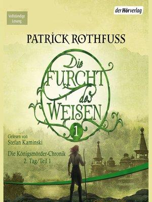 cover image of Die Furcht des Weisen (1)