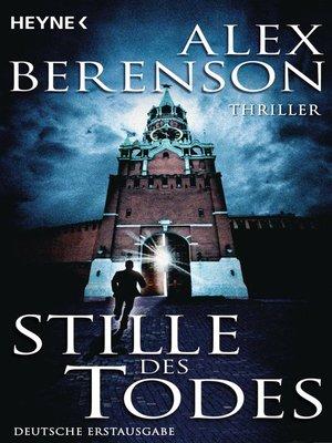 cover image of Stille des Todes
