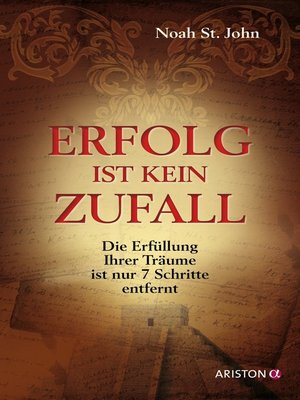 cover image of Erfolg ist kein Zufall