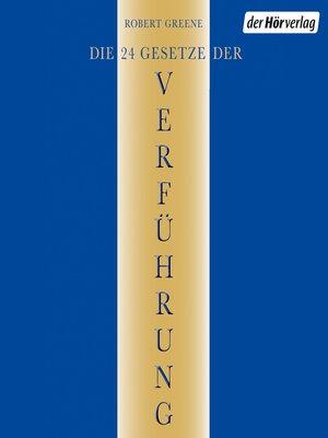 cover image of Die 24 Gesetze der Verführung