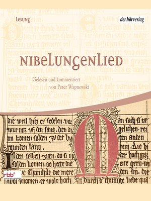 cover image of Nibelungenlied