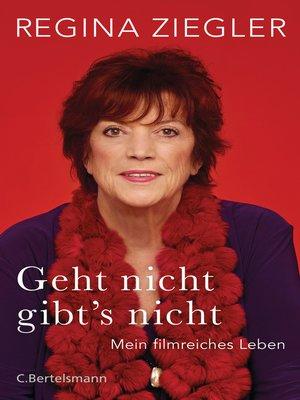 cover image of Geht nicht gibt's nicht!