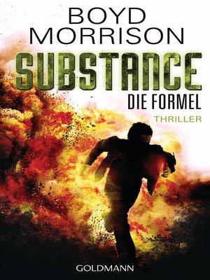 cover image of Substance--Die Formel