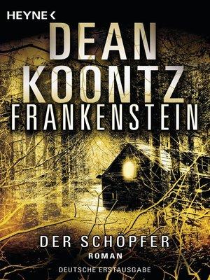cover image of Frankenstein--Der Schöpfer