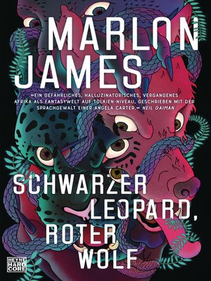 cover image of Schwarzer Leopard, roter Wolf