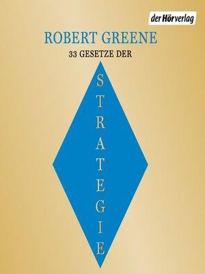 cover image of Die 33 Gesetze der Strategie