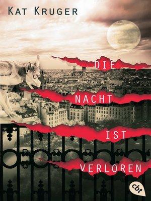 cover image of Die Nacht ist verloren