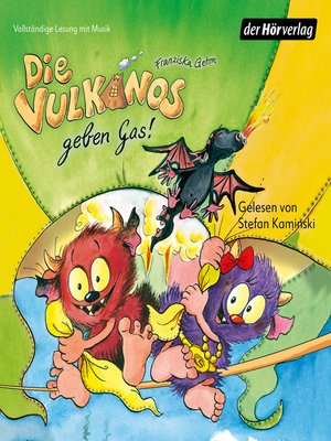 cover image of Die Vulkanos geben Gas!