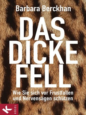 cover image of Das dicke Fell
